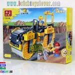 8538 ตัวต่อเลโก้จีน Construction รถบดถนน Load Roller Machine