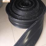 PVC วอเตอร์สต๊อป A8ae ขนาด 8 นิ้ว 3 ปุ่ม หนา 5 มม. แบบมีตาไก่ (25 เมตร)