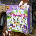 10557 ของเล่น Friends ตัวต่อ Heartlake Party Shop งานปาร์ตี้ที่ร้านเค้ก