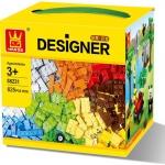 58231 Designer ตัวต่ออิสระ คละแบบ คละสี 625 ชิ้น