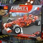 3335 ตัวต่อ Technic รถแข่ง F1 Formula Racer สีแดง