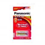 ถ่านอัลคาไลน์ พานาโซนิค Panasonic LR03T 2B AAA (แพ็ค 2 ก้อน)