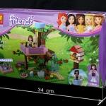 10158 Friend Olivia เล่นสนุกบนบ้านต้นไม้