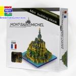 8601-3 Mont-Saint-Michel มรดกโลก วิหารมง-แซ็ง-มีแชล