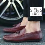 รองเท้าแฟชั่นผู้ชาย สไตล์ Boat shoesดีไซน์สวยเท่ห์สุดคลาสสิค มี 6 สี พร้อมส่ง