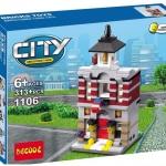 1106 City ตัวต่อ Mini Street View ร้านขายของ Store ในเมืองหลวง