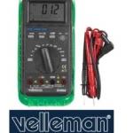 มัลติมิเตอร์ Velleman รุ่น DVM68 มี AUTORANGE FUNCTION / BARGRAPH / FREQUENCY