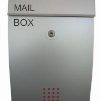 ตู้จดหมายบอดี้เหล็กหน้าอลูมิเนียม