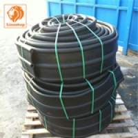 PVC วอเตอร์สต๊อป A6b 6 นิ้ว 3 ปุ่ม หนา 9.5 มม.(25 เมตร)