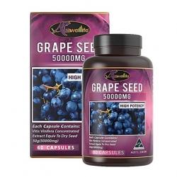 Auswelllife Grape Seed 50000mg สารสกัดเมล็ดองุ่น [VIP 860 บาท]