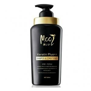 Mooi Keratin Plus++ Shampoo & Conditioner แชมพู โมอิ [VIP 510 บาท]