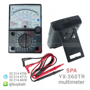 SPA มัลติมิเตอร์เข็ม วัดไฟ รุ่น SPA YX-360TR