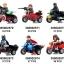7008-13 Super Hero มินิฟิกเกอร์ MARVEL และ DC Comics พร้อมมอเตอร์ไซค์ Side Car thumbnail 1