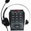โทรศัพท์ + ชุดหูฟัง Call Center Headset รุ่น T-750 thumbnail 2
