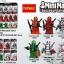 0256-0261 Deadpool มินิฟิกเกอร์เดดพูล MiniMan เซ็ต 6 กล่อง thumbnail 1