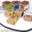 BT513 แผ่น Flexible Block Tape ตัวต่อ 2 แถวแบบยึดหยุ่นพื้นเป็นกาว ความยาว 1 เมตร thumbnail 1