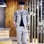 ชุดเซ็ท | เสื้อแขนยาวมาพร้อมกับกางเกงขายาว แนวสปอต เกาหลีโอปป้า มากๆ