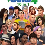 The Sims 4 : 10in1 (3DVD)