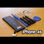 แบตเตอรี่ iPhone 4s พร้อมชุดอุปกรณ์เปลี่ยน