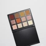 Eyeshadow Palette 12 Colors (12NB - Brown Tone Matte & Shimmer)