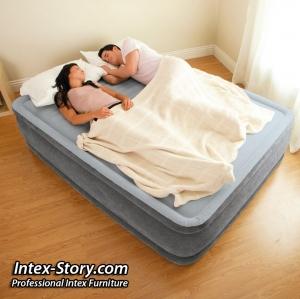 ที่นอนเป่าลมไฟฟ้า Intex 4.5 ฟุต