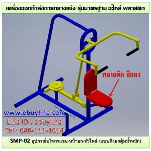 SMP-02 อุปกรณ์บริหารแขน-หน้าอก-หัวไหล่ (แบบดึงยกตุ้มน้ำหนัก)