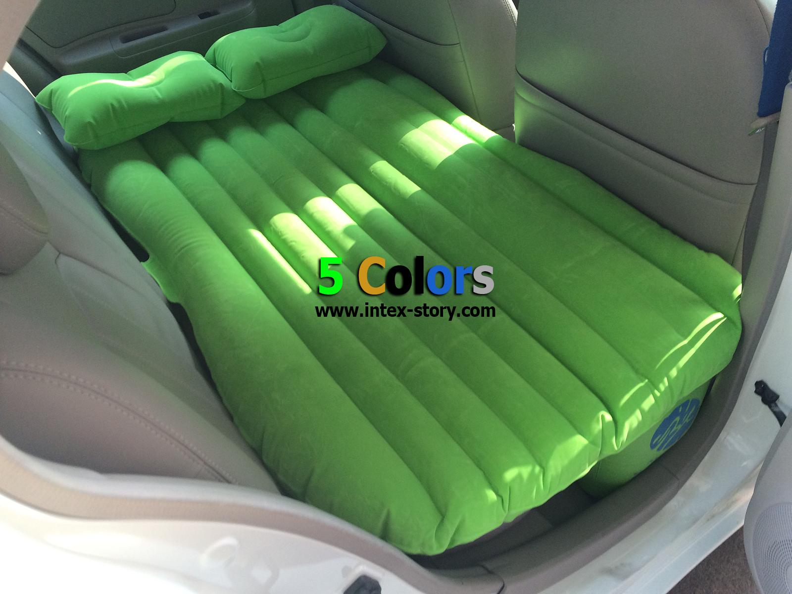ที่นอนในรถ เบาะนอนในรถ (สีเขียว)
