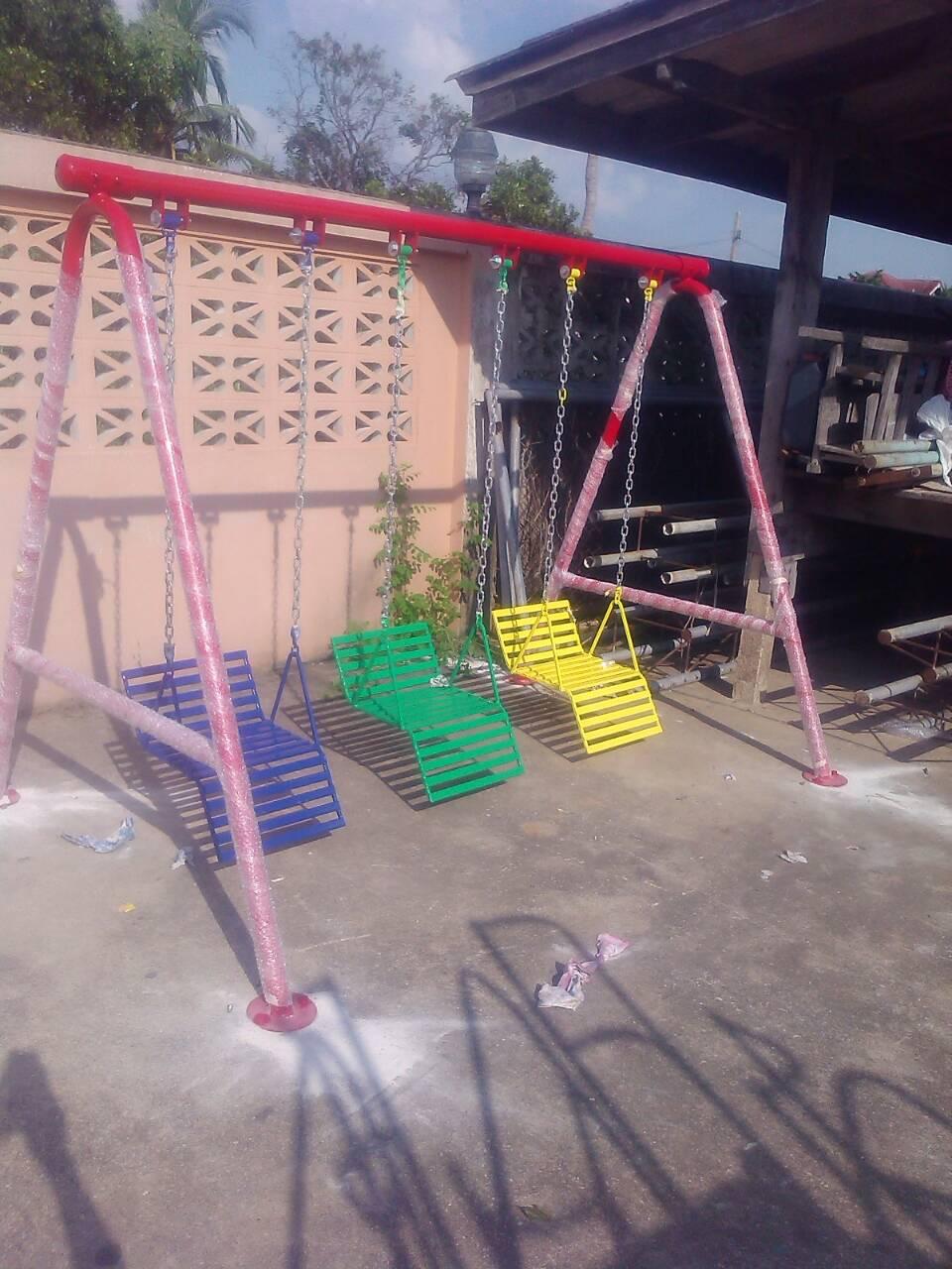 รหัส PG ผลงานติดตั้ง (โรงเรียนอิสลามสัมพันธ์3-บางบัวทอง จ.นนทบุรี) เครื่องเล่นสนามกลางแจ้งสำหรับเด็ก