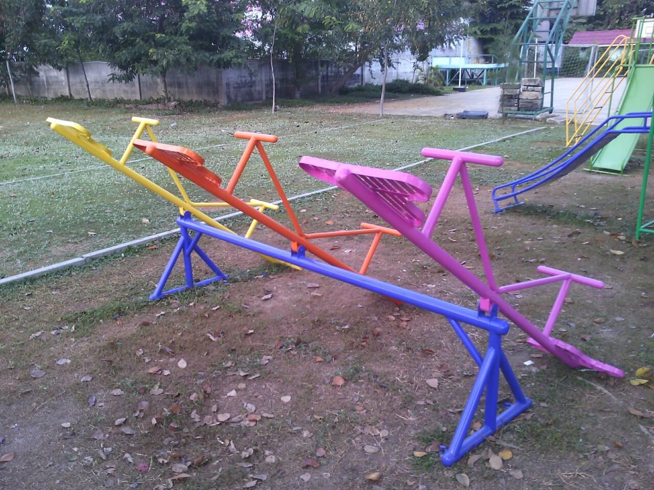 รหัส PG ผลงานติดตั้ง (หมู่บ้านสุชา-บางบัวทอง จ.นนทบุรี) เครื่องเล่นสนามกลางแจ้งสำหรับเด็ก