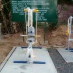 รหัส SM ผลงานติดตั้ง (โรงเรียนบ้านคลองบอน อ.เกาะยาว จ.พังงา) เครื่องออกกำลังกายกลางแจ้ง