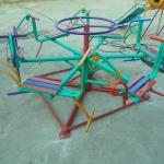 รหัส PG ผลงานติดตั้ง (ตลาด อ.ต.ก.จตุจักร กทม.) เครื่องเล่นสนามกลางแจ้งสำหรับเด็ก