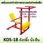 KDS-18 อุปกรณ์ถังกลิ้ง นั่ง-ยืน