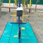 รหัส SM ผลงานติดตั้ง (หมู่บ้านสีไชยทอง) เครื่องออกกำลังกายกลางแจ้ง