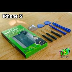 แบตเตอรี่ iPhone 5 (ยี่ห้อ Nphone) พร้อมชุดอุปกรณ์เปลี่ยน