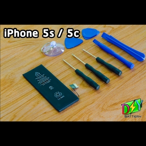 แบตเตอรี่ iPhone 5s/5c (OEM) พร้อมชุดอุปกรณ์เปลี่ยน