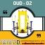 OUD-02 อุปกรณ์เดินสลับแขนขาแนวราบ 3 ด้าน