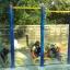 รหัส OUL ผลงานติดตั้ง (หมู่บ้านปทุมทอง อ.เมืองจ.ปทุมธานี) เครื่องออกกำลังกายกลางแจ้ง