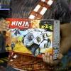 10523 Thunder Swordsman ยานเกราะไทเทนียม Titanium Ninja Tumbler