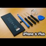 แบตเตอรี่ iPhone 6 Plus พร้อมชุดอุปกรณ์เปลี่ยน